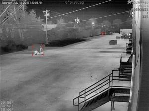 Low-light / Long Distance Intrusion Detection