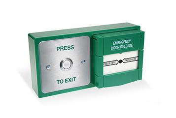 Press to Exit / Emergency Door Release