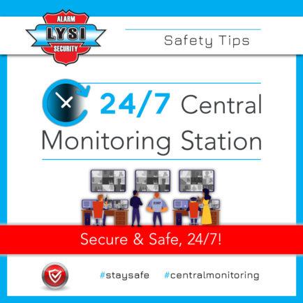 Secure & Safe, 24/7!